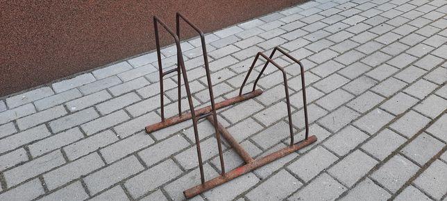 Stojak na 2 rowery , metalowy, na działkę, ogród,