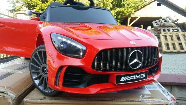 Samochód ELEKTRYCZNY Mercedes na akumulator auto dla dzieci