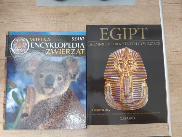 Wielka Encyklopedia zwierząt Ssaki Oxford + gratis