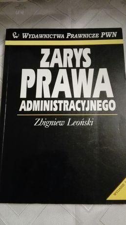 Zarys prawa administracyjnego - Leoński