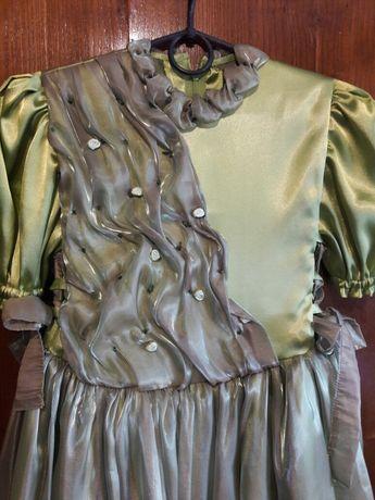 Платье для девочки 6—9 лет выпускное, новогоднее