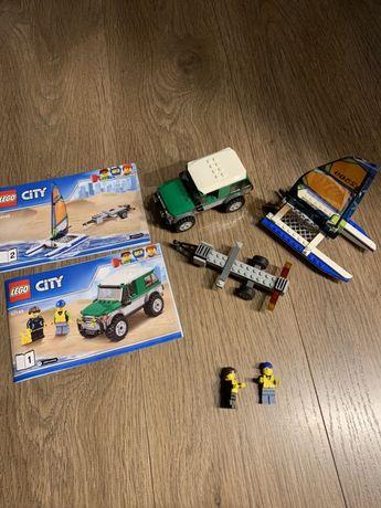 Lego City Внедорожник с прицепом для катамарана 60149