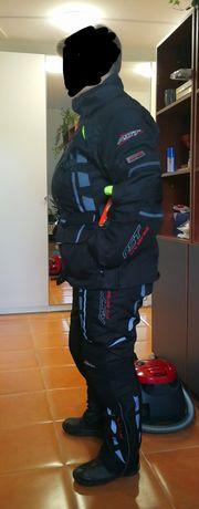 Kurtka motocyklowa, spodnie motocyklowe, komplet damski RST Paragon V