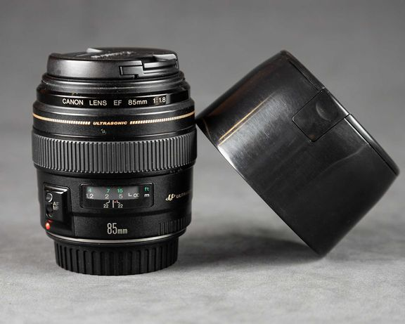 Объектив Canon EF 85mm f/1.8 USM S/N-44183324