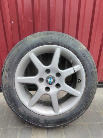 Літня резина з титаном на BMW (5-120)