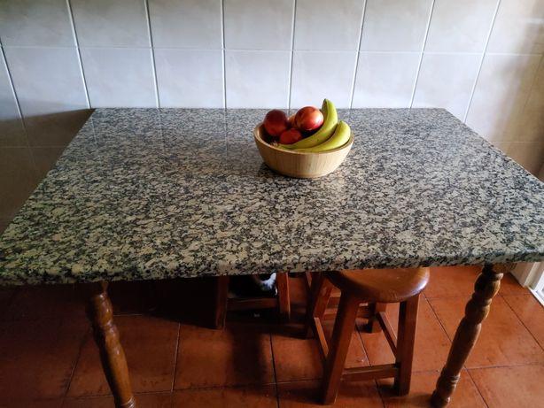 Mesa cozinha marmore