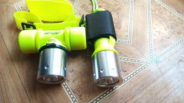 Подводный фонарь на светодиоде CREE XM-L T2