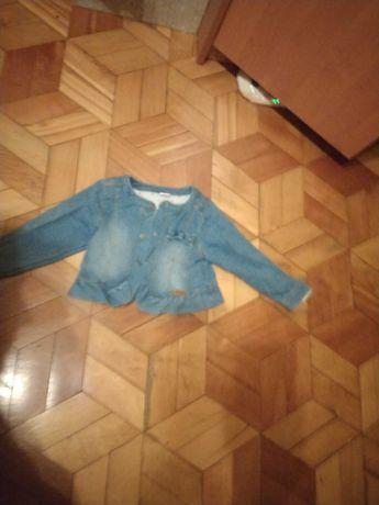 Kurteczka jeansowa 9-12 M
