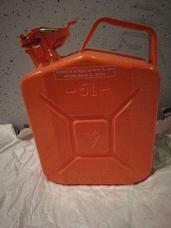 Kanister zbiornik pojemnik