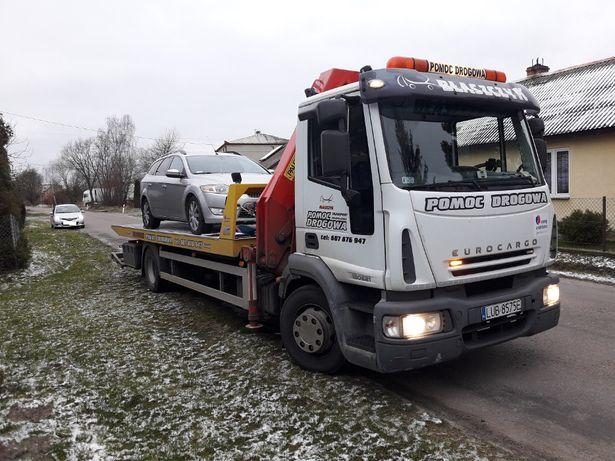 Pomoc Drogowa niskopodwoziowka ciężarowe rolnicze budowlane transport