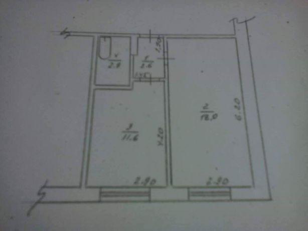 Продам однокімнатну квартиру в смт. Варва
