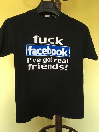 Tshirt L- F*facebook