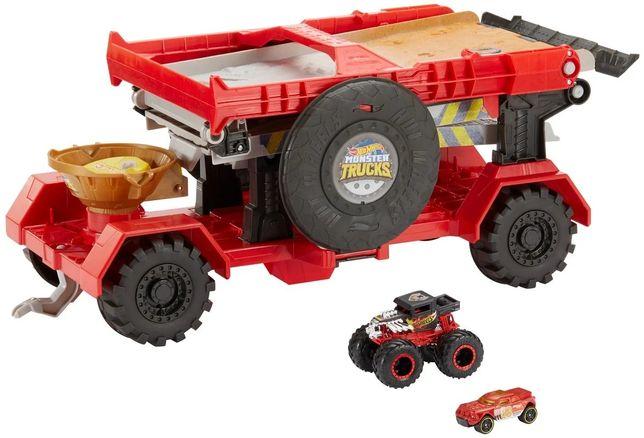 Przyczepka monster truck hot wheels