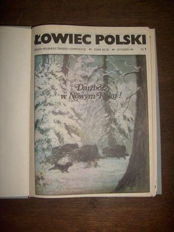 Łowiec Polski+Zachodni Poradnik Łowiecki+prospekty+książka +UPOMINEK