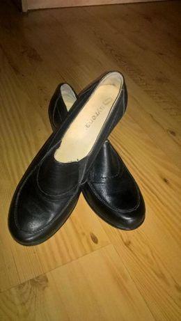 Buty damskie ze skóry -SYRENA