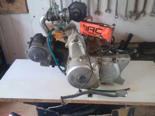 Silnik 50/75 cc - cały kompletny na chodzie