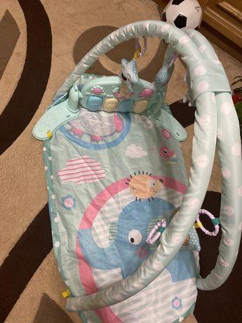 Музыкальный развивающий коврик для малышей