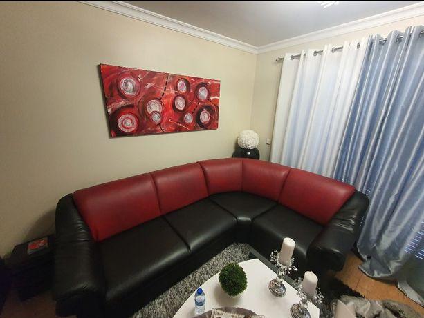 Sofa L em Excelentes Condições