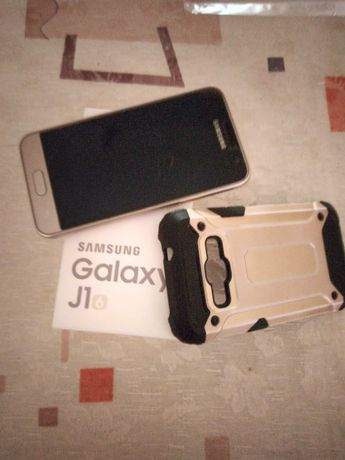 Samsung galaxy j1 2016 duos, золотистый