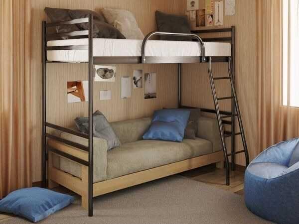 чердак кровать, детсиские кровати, Ліжко горище для дітей