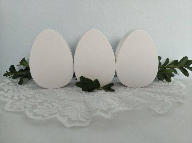 Jajko z gipsu, pisanka do samodzielnego pomalowania wys. 7cm Wielkanoc
