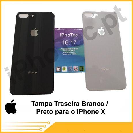 Tampa Vidro Traseira iPhone X