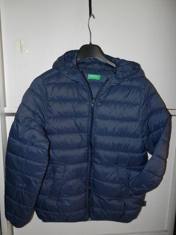 Benetton kurtka pikowana 150 cm