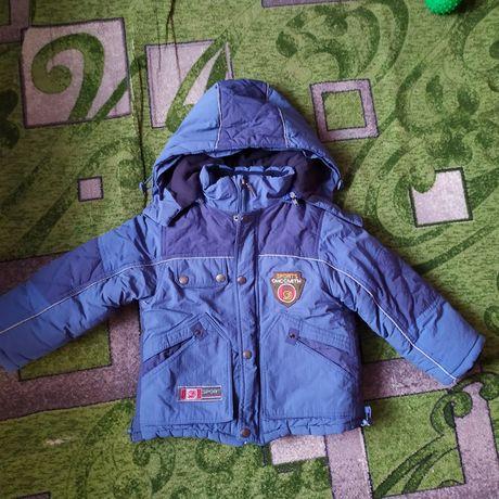 Куртка зимняя размер 92