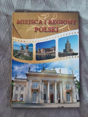 Miejsca i regiony Polski- książka