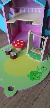Игровой домик деревянный