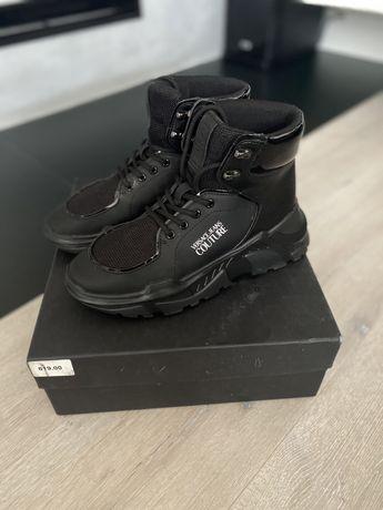 Sneakersy versace jeans oryginalne!!! Czarne 39