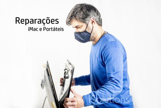 Reparação de computadores e portáteis