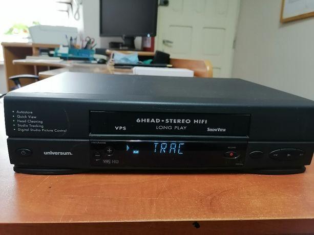 Magnetowid VHS Uniwersum VR798, Philips 6 głowic