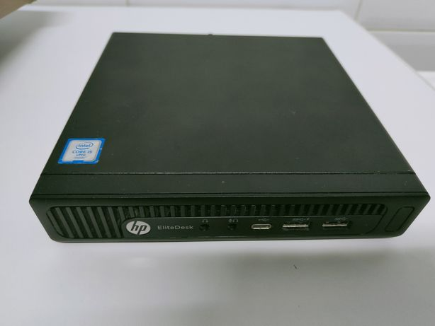 Mini PC HP Elitedesk 800 G2, i5 6500, 8gb, 256gb SSD