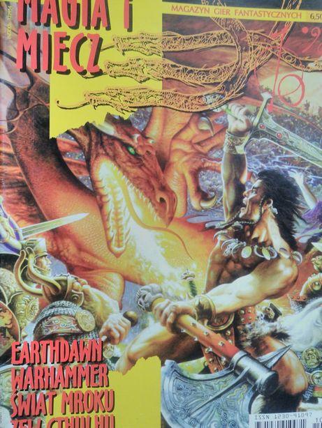 Magia i Miecz czasopisma RPG - Fantasy