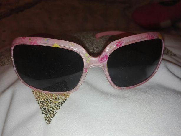Okulary przeciwsłoneczne z filtrami dla dziewczynki marki Rossmann