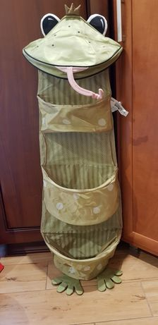 Wiszący organizer Ikea  do szafy dziecka 35×130 (żaba)