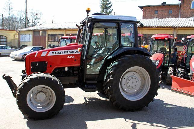 Ciągnik rolniczy komunalny Massey Ferguson MF 4455 krajowy TUZ pneumat
