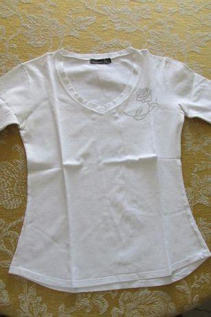 T-shirt branca da Zara
