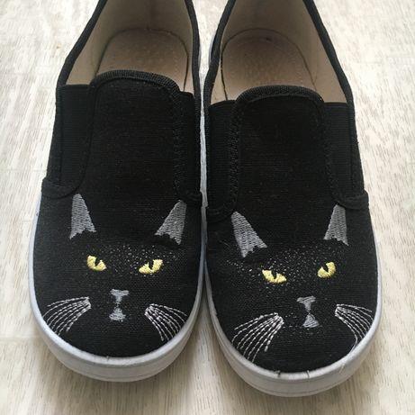 Обувь, туфли, мокасины, слипоны, тапочки для девочки Waldi.