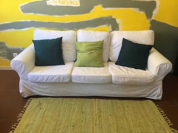 Sofá branca IKEA EKTORP