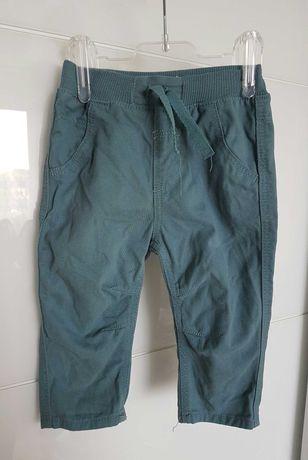 Turkusowe spodnie dla chłopca George 68-74