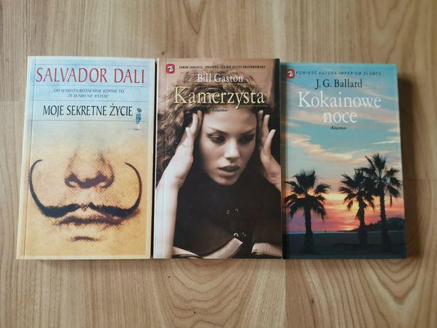 Moje sekretne życie, Salvador Dali, zestaw trzech książek Książnica