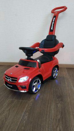 Машинка, Каталка, толокар Mercedes-Benz M 3186L с родительской ручкой