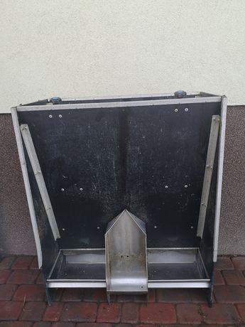 Karmidło automat paszowy nierdzewny dla świń kur poidło warchlaków