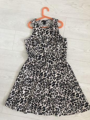Платье тигровое H&M размер М, 38
