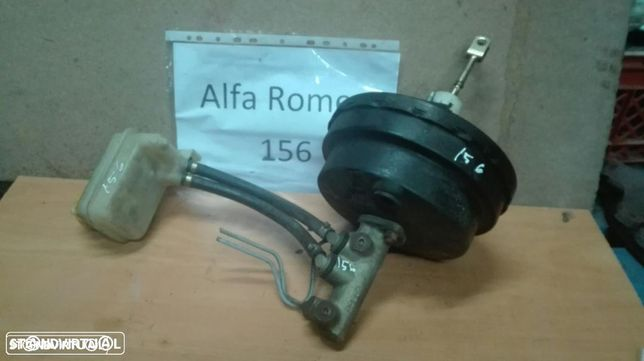 Servo freio e bomba central de travões Alfa Romeo 156