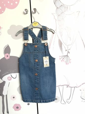 Primark nowa sukienka jeansowa 92 cm