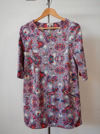 Sukienka L Papaya wzorki kwiatki