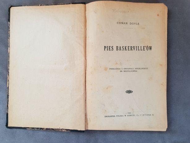 Pies Baskervillów z 1932r.
